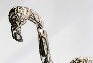 American Neighbors - Fine art sculpture by Andrew Miguel Fuller - Metal artwork by Andy Fuller