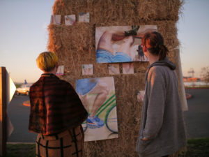 By Invitation or by Fiat was a public performance by Andrew Miguel Fuller and the Strawman Collective in February 2018 in the San Francisco Bay Area