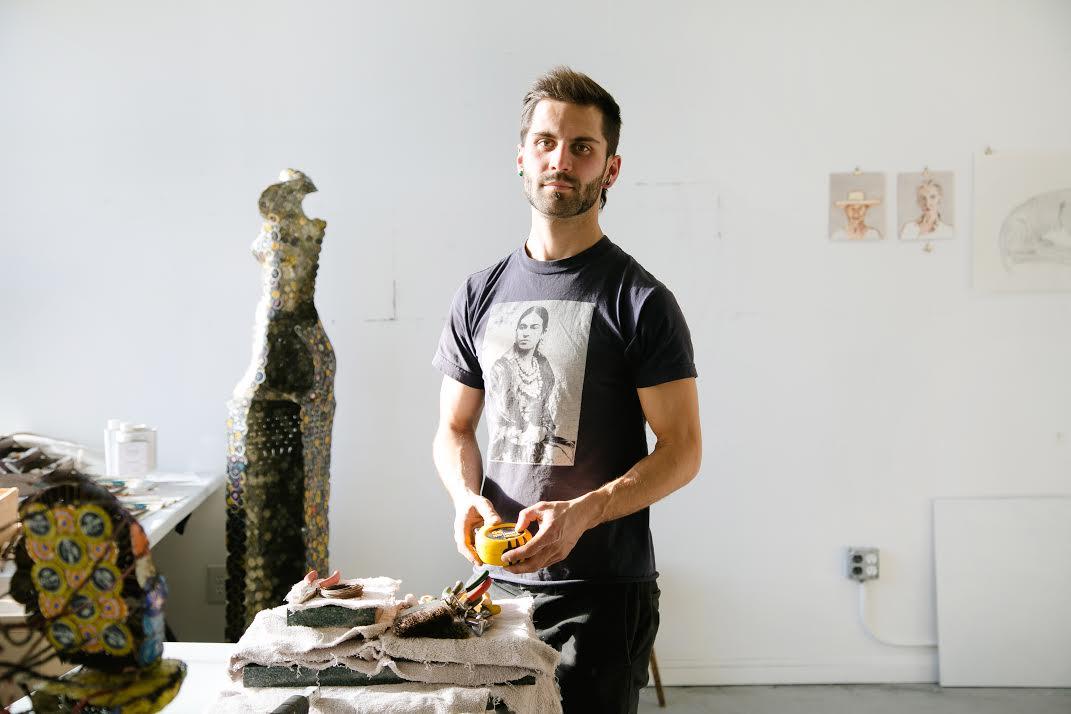 Andrew Miguel Fuller, sculptor, artist, sculpture