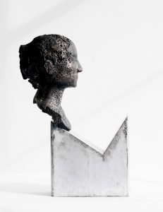 Another very last thing before I go - Fine art sculpture by Andrew Miguel Fuller - Tar and metal artwork by Andy Fuller