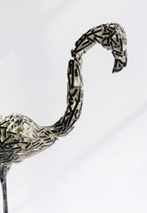 American Neighbors - Fine art sculpture by Andrew Miguel Fuller - Metal artwork by Andy Fuller